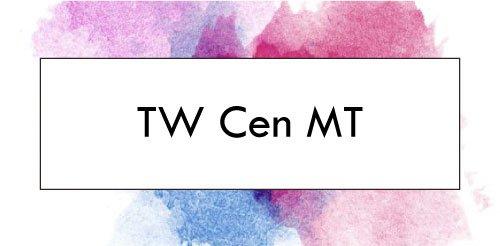 Download Font Twentieth Century MT