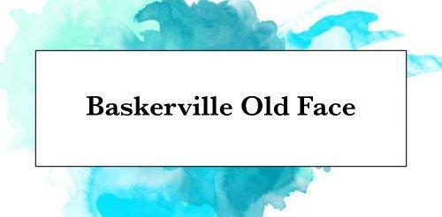 Download Baskerville Old Face