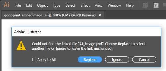How and Why to Embed Images in Your Artwork Files
